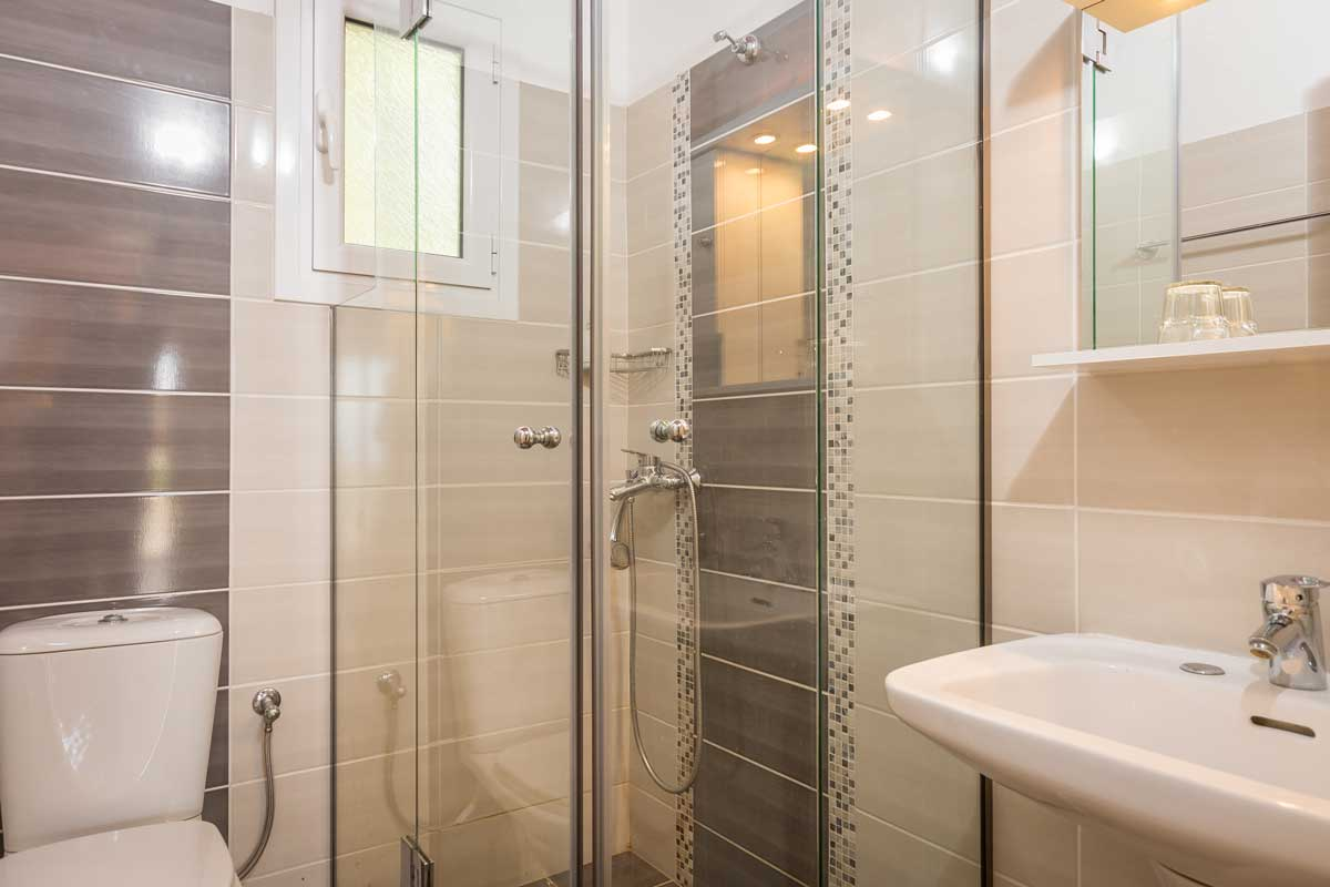 fouxia apartments bedroom sea view bathroom