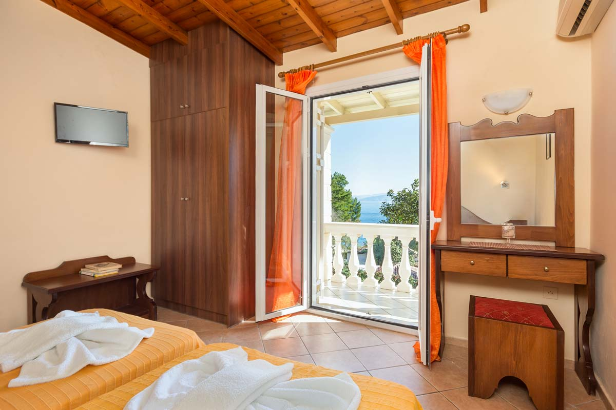 fouxia apartments bedroom sea view bedroom pation