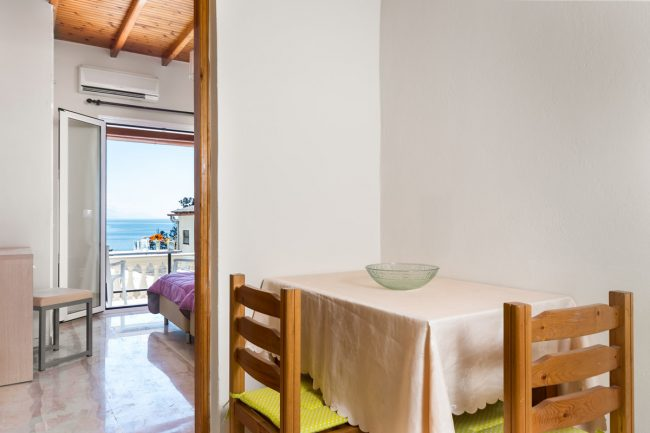 fouxia corfu apartments for rent sea view studio 4