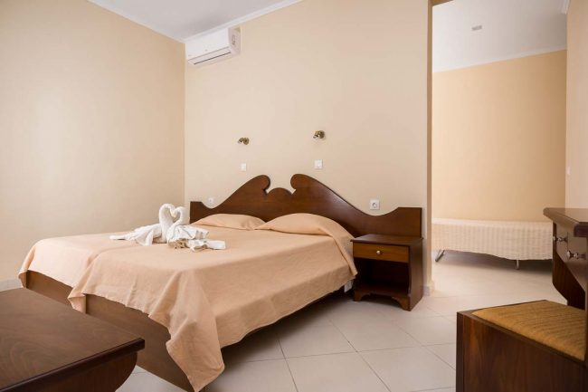 fouxia corfu apartments for rent triple studio 1